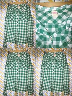 Crissa Checkered Long Sleeves