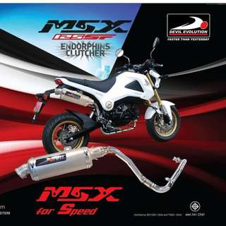 Devil Exhaust Systems Singapore Honda MSX 125 Grom Ready Stock ! Promo ! Do Not PM ! Kindly Call Us !