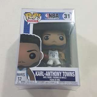 Legit Brand New With Box Funko Pop Sports NBA Karl Anthony Towns