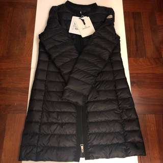 (Size 0) Moncler down long coat