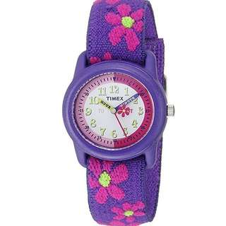 Timex Girls Beginner Watches with Labelled Hour and Minutes Hands