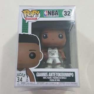 Legit Brand New With Box Funko Pop Sports NBA Giannis Antetokounmpo