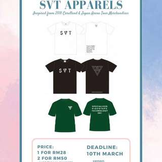 SVT 2018 Caratland & Japan Arena Tour inspired goods