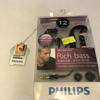 Phillips earphone