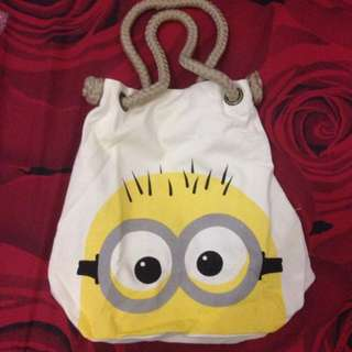 Totebag Minion Import Bkk