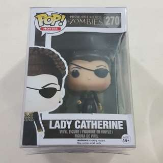 Legit Brand New With Box Funko Pop Movies Pride + Prejudice + Zombies Lady Catherine