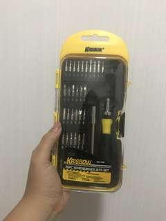 Krisbrow 36pcs screwdriver bits set