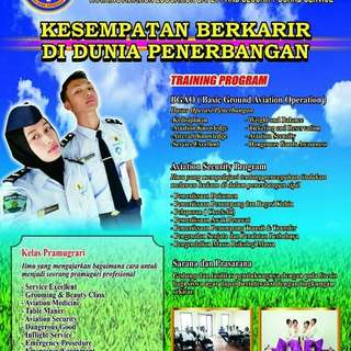PT. Ruda Bina Angkasa Via Lembaga pendidikan & pelatihan Penempatan kerja di Angkasa Pura, Gapura, Maskapai (Garuda, Air Asia, Citilink, Sriwijaya) seluruh indonesia.
