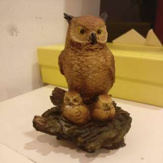 Owl figurine from Italy