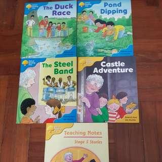 Oxford reading tree - 4 readers for preschoolers