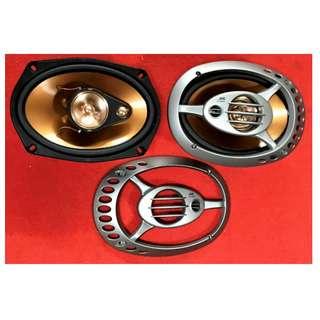 "JVC  CS-XV 6930  6x9""  3-Way Coaxial Car Speaker"
