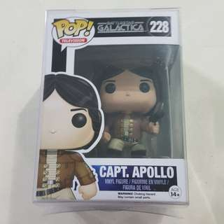 Legit Brand New With Box Funko Pop Television Battlestar Galactica Captain Apollo