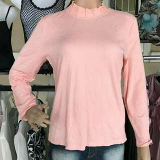 Peach blouse Import