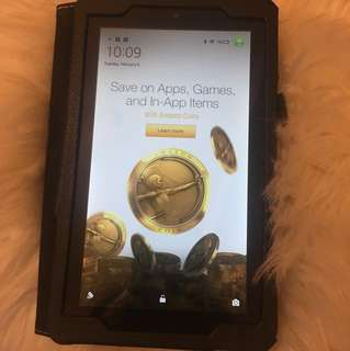 Kindle Fire tablet (5th Gen) *used*