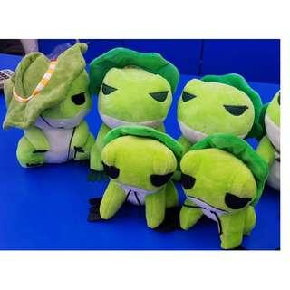 0813/4=6*S 旅行青蛙🐸娃娃.