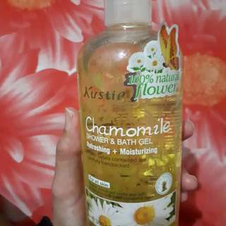 Kustie Shower & Bath Gel Chamomile 380 ml