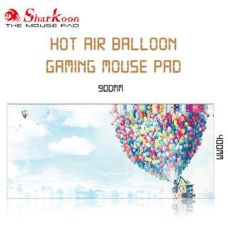 Hot Air Balloon Anti-Slip Gaming Mouse Pad / Mousepad