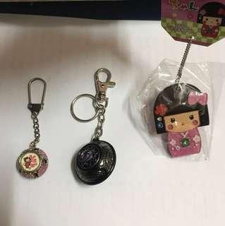 匙扣 頸鍊 購自日本,泰國,台灣