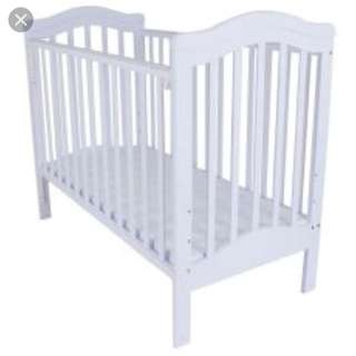 Baby Cot with mattress & protector