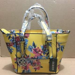 Guess delaney mini yellow