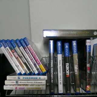 Ps4, Ps vita, 3DS games