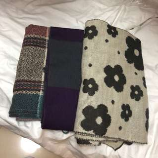 圍巾 全新 100%new $8/1