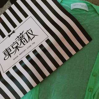 🚚 蒂芬妮綠薄針織