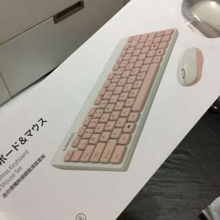 Wireless Keyboard and Mouse Set