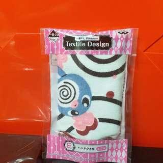 Pokemon 一番賞 毛巾 蚊香蛙