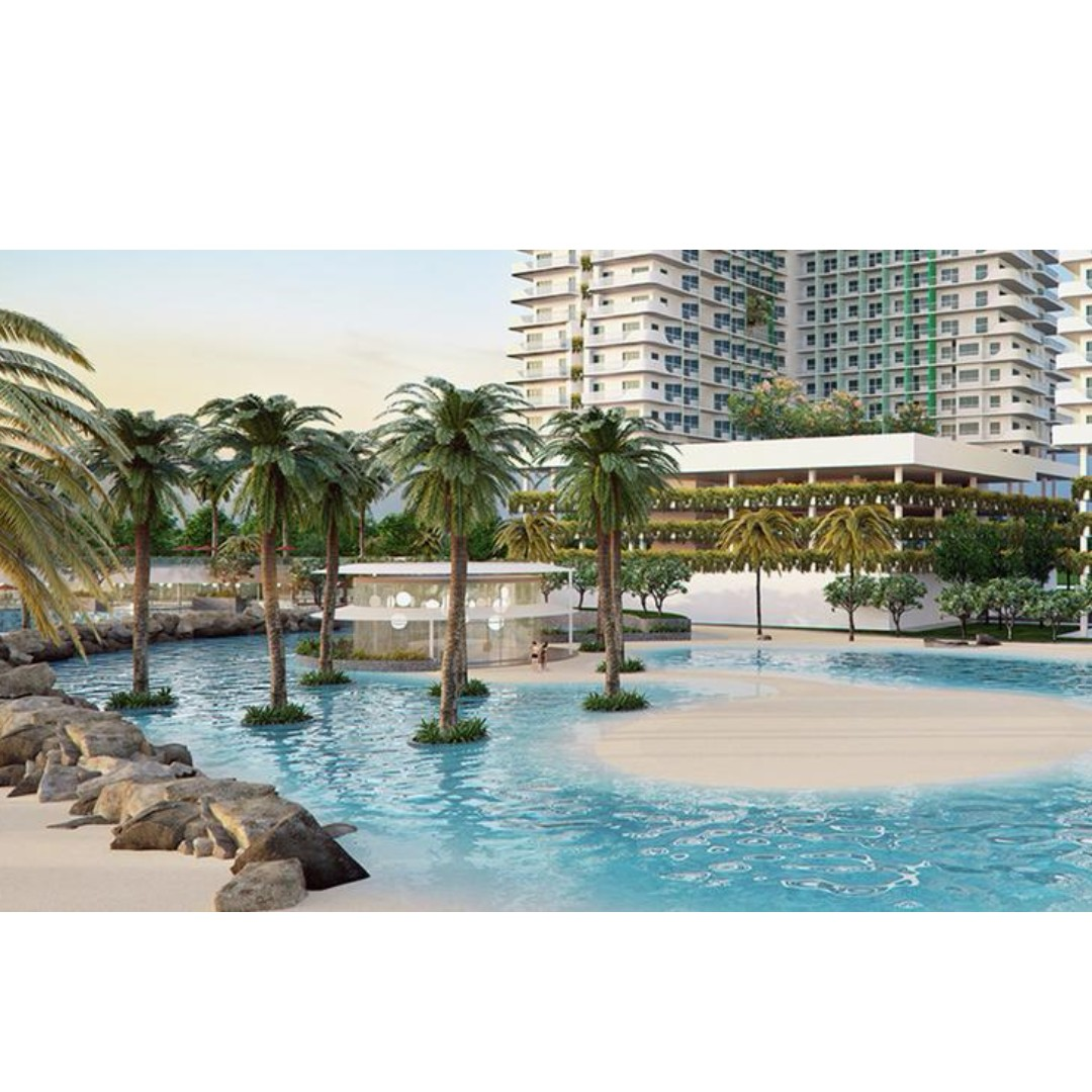 2 BEDROOM WITH PARKING AT AZURE URBAN RESORT RESIDENCES- FULLY FURNISHED