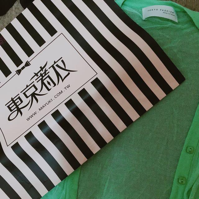 蒂芬妮綠薄針織