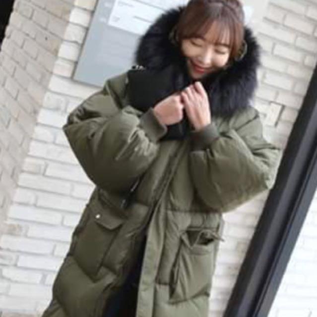 韓國代購款 羽絨大衣外套