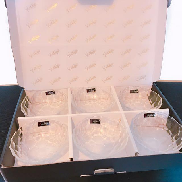 過年特惠‼️全新✨水晶透明碗組合禮盒 #新春八折