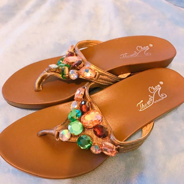 國外帶回✨珠珠涼鞋 #新春八折
