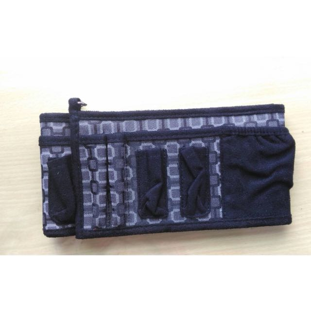 大容量 隔層化妝包 旅行便攜 手拿包 多功能 洗漱 化妝品 收納盒包 數碼包