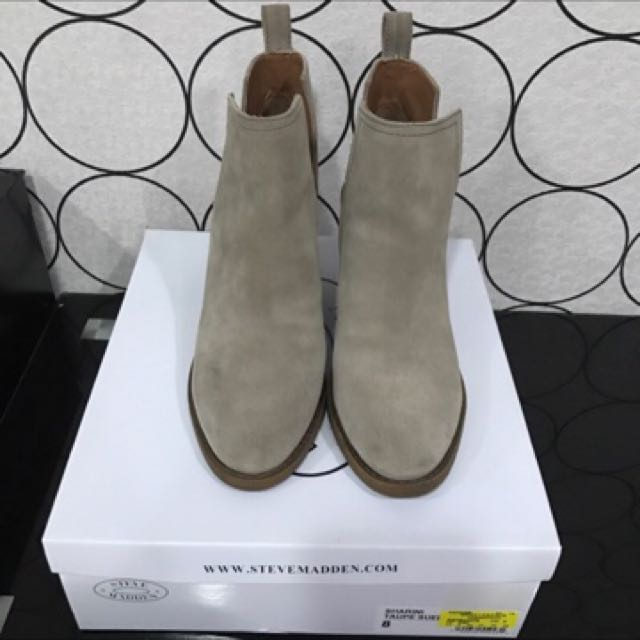 專櫃 Steve Madden 時尚側邊開叉踝靴 短靴 顯瘦 #新春八折
