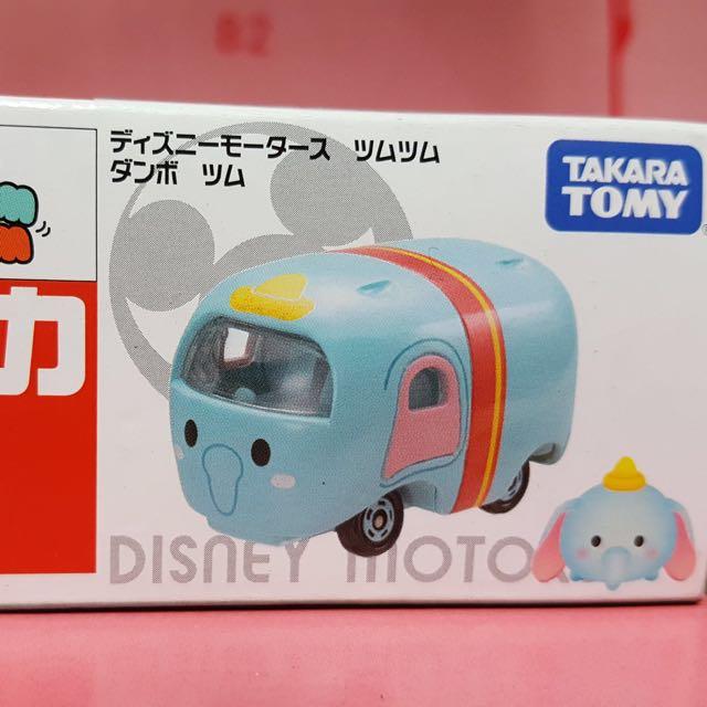 全新 Tomica 迪士尼 TsumTsum 小飛象