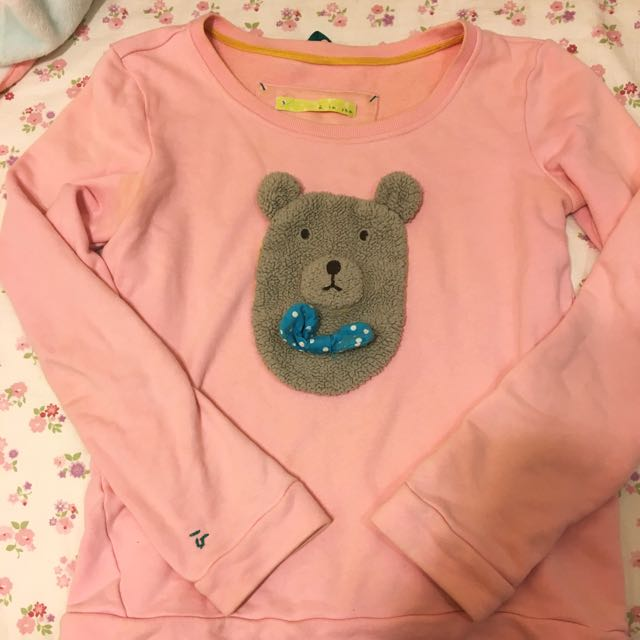 A la sha 熊熊可愛長袖上衣❤️
