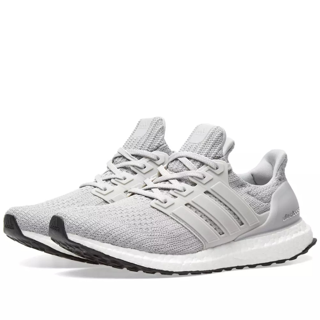 3382cc6ca4f Adidas Ultra Boost 4.0 - Grey and Core Black, Men's Fashion ...