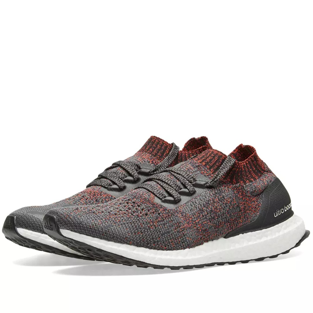 b3aabc5707d1b Adidas Ultra Boost Uncaged - Red Grey and Black