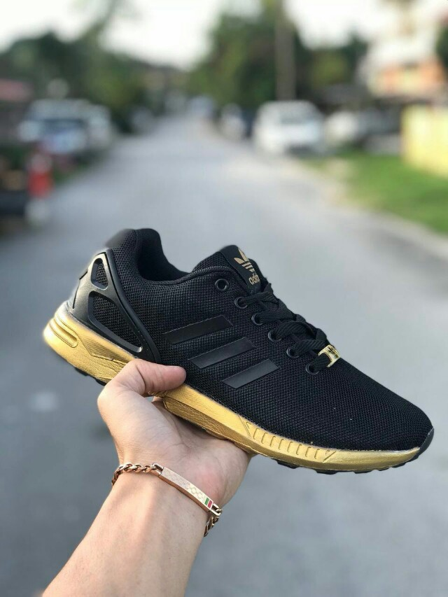 new product 0cbcf 905bd new arrivals adidas zx flux gold malaysia cc721 066ab