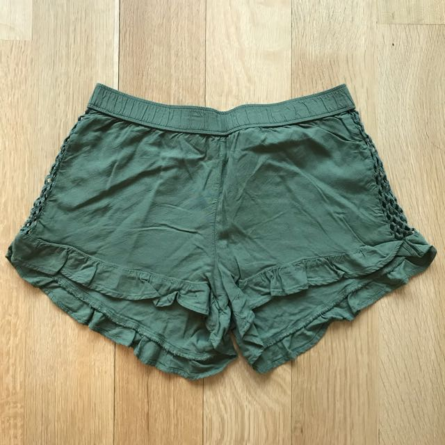 Aerie Mesh Panel Shorts