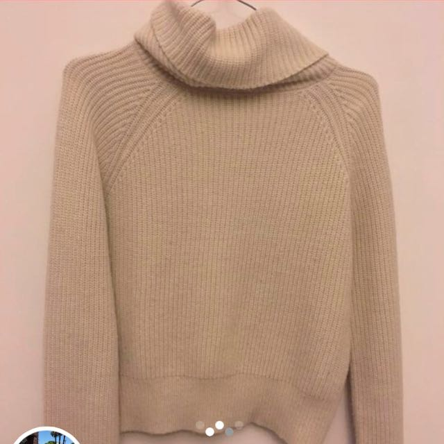 ALICE IN THE EVE knit turtleneck sweater