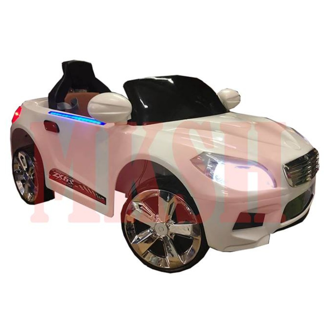 All New Mercedes Benz Leather Seat Benz Ride On Toy Car For Kids