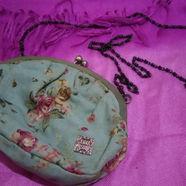Anna Sui Floral Vintage Sling Bag