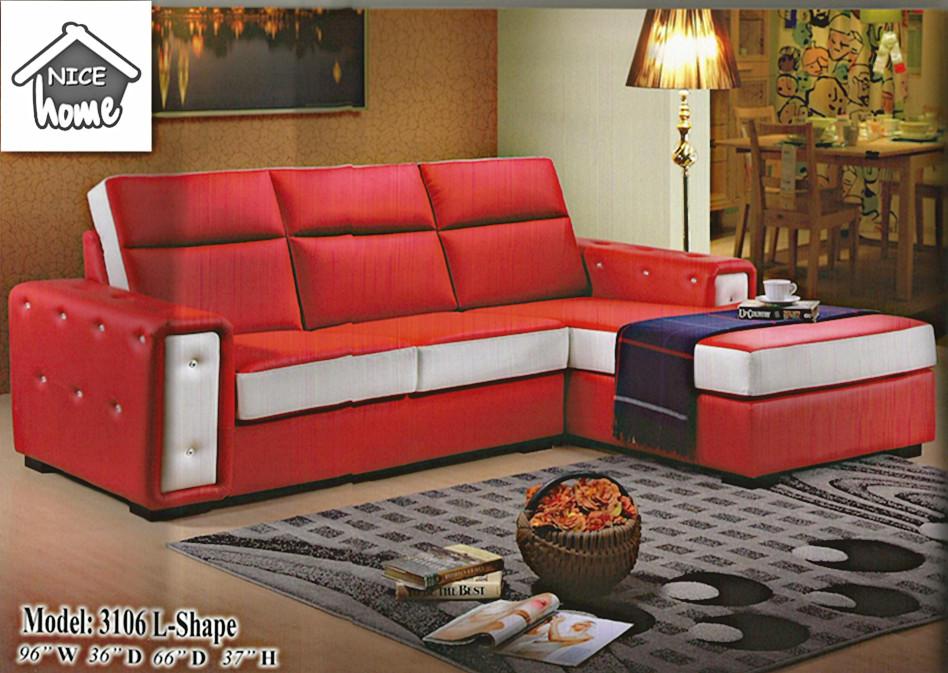 L Shape Sofa Malaysia Murah Baci Living Room