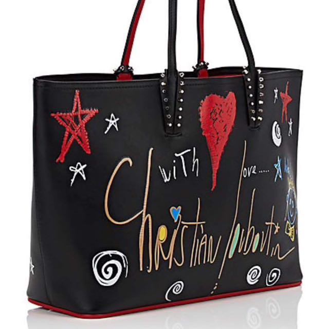 795b42b1105f Authentic Christian Louboutin Cabata Leather Tote Bag (Limited Edition)