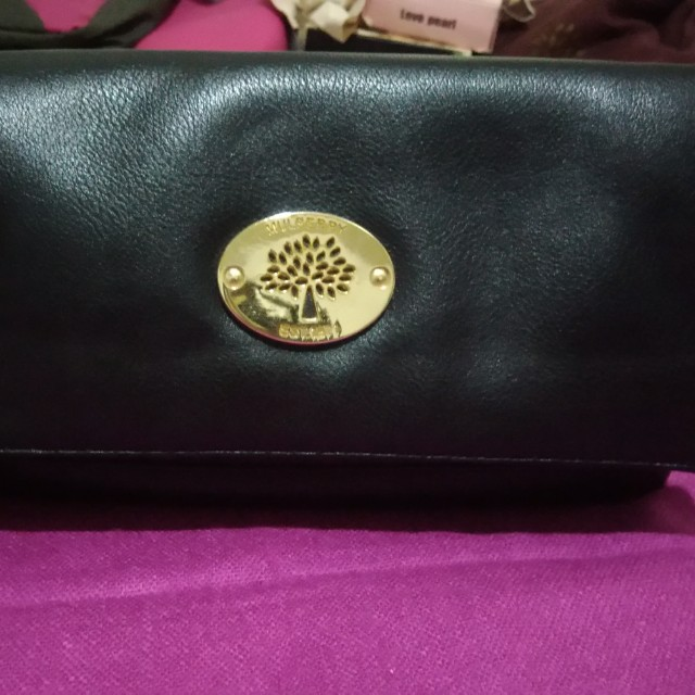 Authentic Mulberry Fold-over Clutch Bag