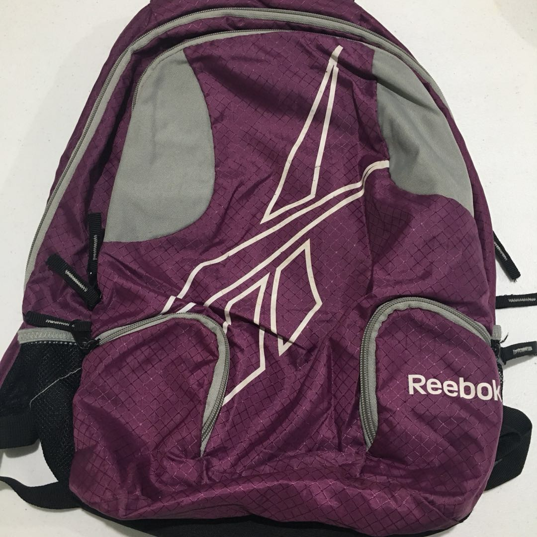 Authentic Reebok Girls Backpack