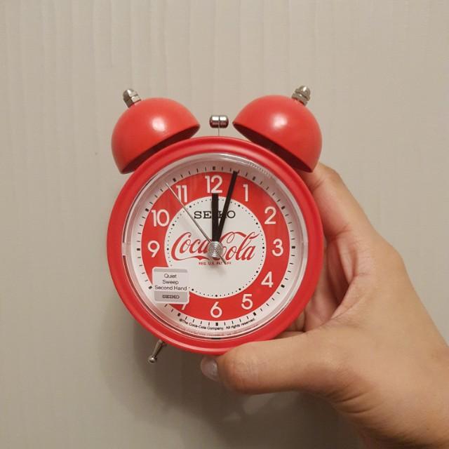 Authentic Seiko Coca Cola Clock